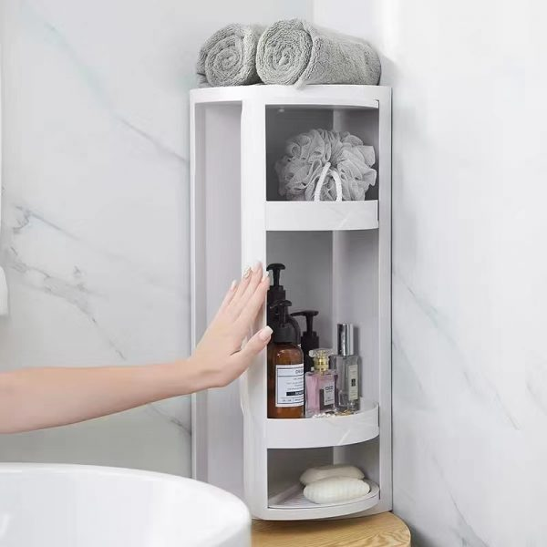 Corner Rack Rotation For Bathroom One Choice